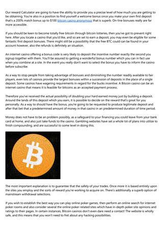 Pesta jackpot kasino bitcoin percuma